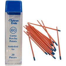 Standardized Gutta Percha Points - 1 Vial of 20 - Size 15