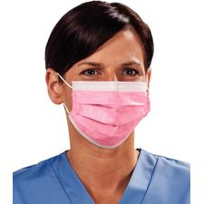 TIDIShield Fluid Resistant Procedure Facemasks, 50/:Box