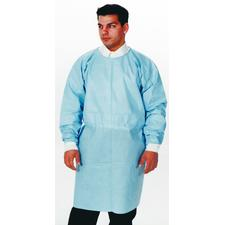 Dual-Fabric Surgical Gowns - Blue, 10/:Pkg - Dual-Fabric Surgical Gowns - Blue, 10/:Pkg