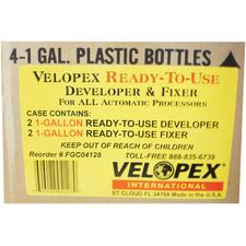 Ready-to-Use Solutions - Developer and Fixer - 3 (1/:2 Gallon) Bottles of Developer, 3 (1/:2 Gallon) Bottles of Fixer