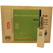 In-Ceram® YZ for inLab®- Block, YZ 55/:20, 4/:Pkg