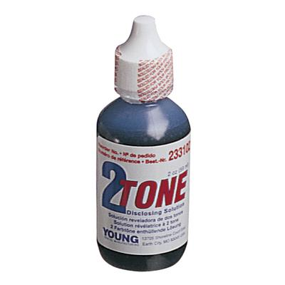 2 Tone Disclosing Agent - Solution, 2 oz Bottle